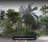 Land for sale in Homagama, Pitipana