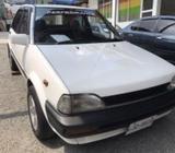 Toyota Starlet White 1987