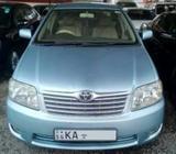 Toyota Corolla 121 LX Limited 2005