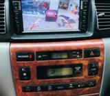 Toyota Corolla 121 Car Setup Dvd Player