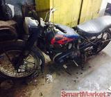 Vintage BSA & Triumph Motor bikes