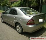 Toyota corolla 121 for sale