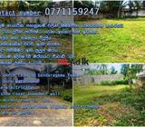 land in bandaragama town