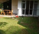 a furnished room with balcony,attached bath room,new kitchen and a greenery open area