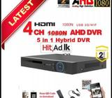 gv tech 2.4mp cctv system with installation