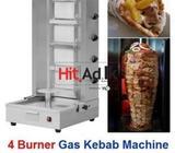 gas doner kebab sawarma grill