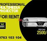 multimedia projectors for rent