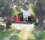 commercial/residential land (40.5p) with a house in negombo hotel side kudapaduwa