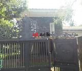 quick sale of land & house