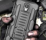 Rugged hybrid armor case for s4