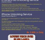 Iphone/Ipad Unlocking Service