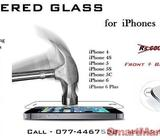 TEMPERED GLASS 1 for iPhones
