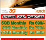 HUTCH SPECIAL DATA PACKAGES