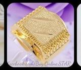 Stylish 14K Gold Filled Men's Ring