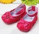 Cute baby girls shoes soft sole newborn slip-on suit for size 0-18 months