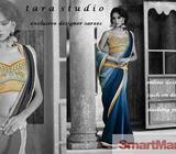 unique Indian designer sarees