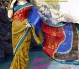 Elegant Border sarees with unique designs
