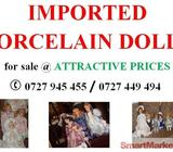 Imported Porcelain Dolls