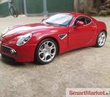 Alfa Romeo 8C Model Toy Cars