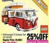 Lego Creator Expert Volkswagen T1 Camper Van 25% OFF