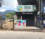 Shop for Rent Matale Town