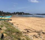 Attractive Beachfront Land Facing Colombo - Galle Main Road