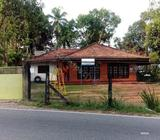 House with Land facing main road in Gampaha