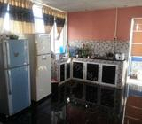 Double and Triple bed Room for rent with kitchen near Nugegoda kalubowila Dehiwala