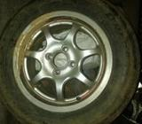 14 Alloy Wheel with Tyre