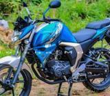 Yamaha FZ S Cyan Gold 2018