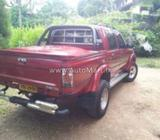 Toyota Hilux 107 Cab Canopy