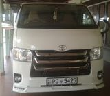 Toyota KDH new van  for hire