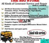 generator services & repair