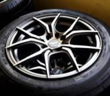 15'alloy with 185 X65-15 Tyre