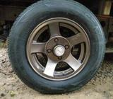 13 (dura Thaw) Alloy Wheel with Tyre