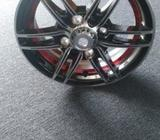 12 inch Alloy Wheel 100 PCD Model C106