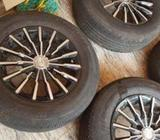 Tyre with Alloy Wheel
