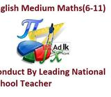 maths english medium classes (6-11) in malabe conduct by government teacher