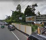 Large Land for Sale in Karapitiya, Galle, facing main Road.