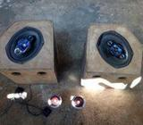 Threewheel audio setup