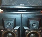 Centre and Two Surround Speakers (usa