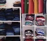 Clothes with Racks Lot