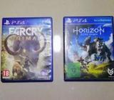 Horizon Zero Dawn and Far Cry primal