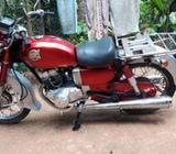 Honda CD 125 87. #### 1990