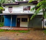 Commercial Property with House at - Weliweriya