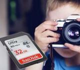 Sandisk 80Mbps Camera SD Memory Card