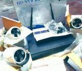 Wifi Wireless 4 Camera DVR