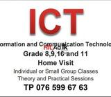 ict classes individual or small group home visit