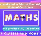 mathematics | edexcel, cambridge, local syllabus | o/l (grade 6-11), as level and a level (grade 12-