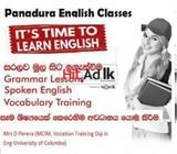 english classes panadura
